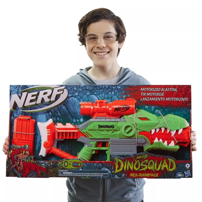 NERF DinoSquad Rex-Rampage ảnh 3