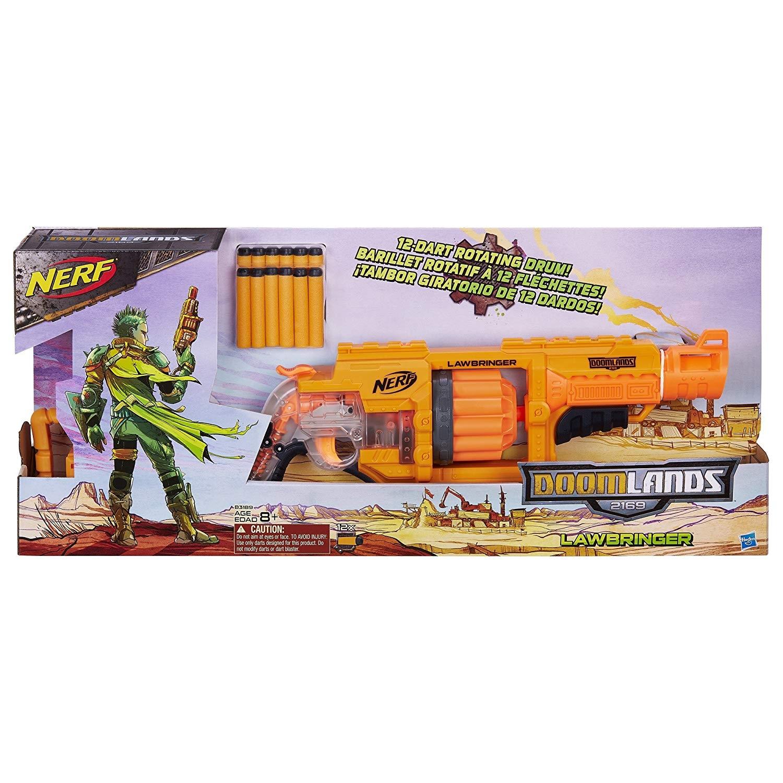 Nerf Doomlands 2169 Lawbringer Blaster ảnh 2
