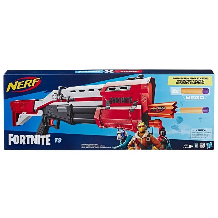 NERF FORTNITE TS MEGA PUMP ACTION Dart blaster ảnh 3