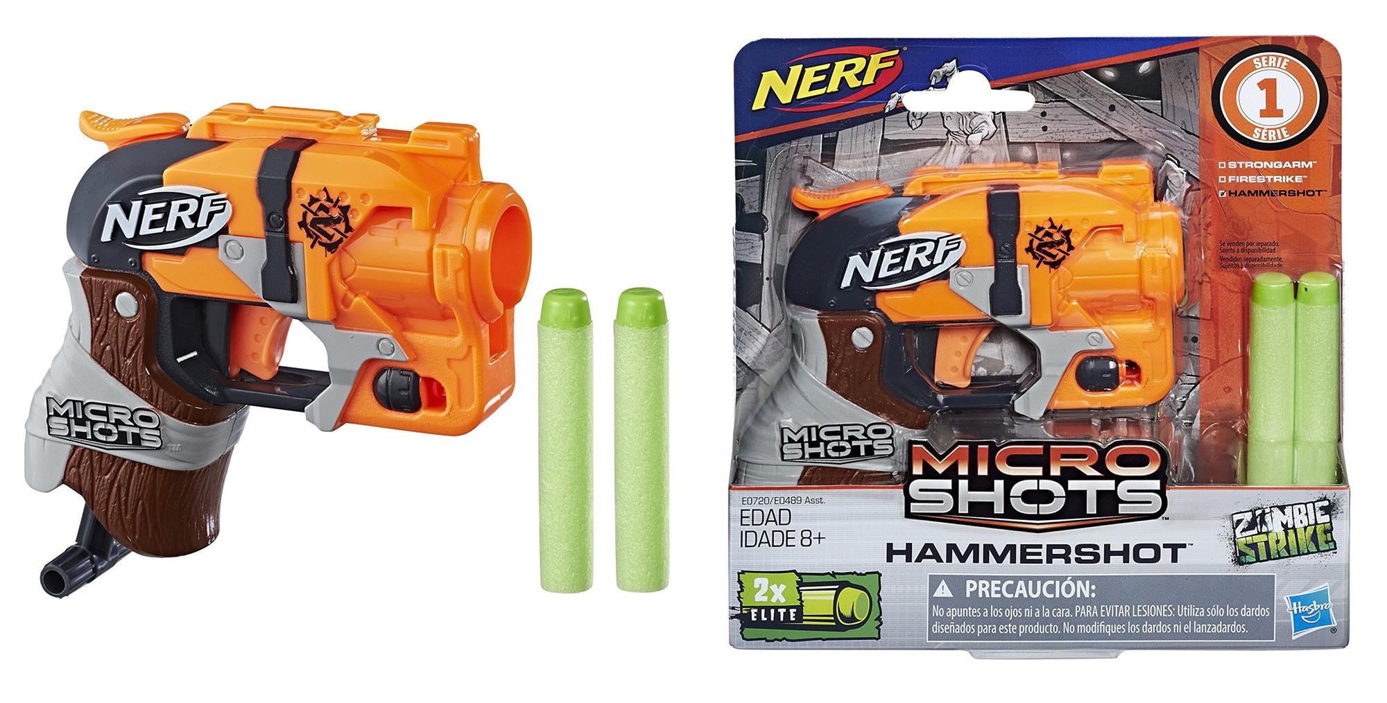 Nerf MicroShots Zombie Strike Hammershot ảnh 2