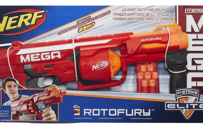 Nerf N-Strike Mega Rotofury ảnh 3
