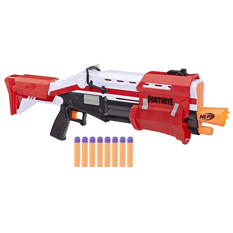 NERF FORTNITE TS MEGA PUMP ACTION Dart blaster ảnh 1